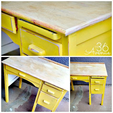 How To Refinish Wood Desk by How To Paint And Refinish Wood The 36th Avenue