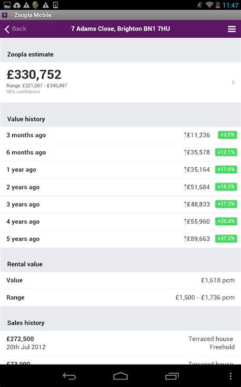 zoopla buy house zoopla property search uk home to buy rent android apps on google play