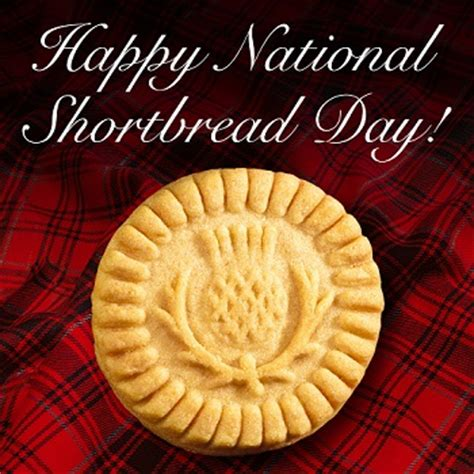 celebrate national shortbread day
