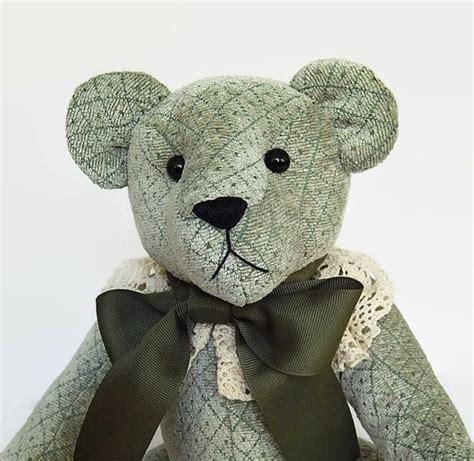 teddy bear upholstery ooak artist teddy bear artist bear stuffed teddy bear