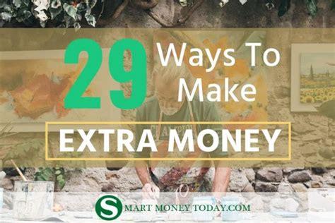Best Ways To Make Extra Money Online - 20 best survey sites to make extra money earn 300 per month smart money today