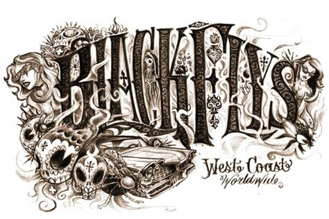 tattoo font west coast west coast tattoo lettering www pixshark com images