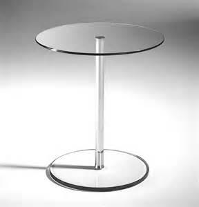 Beistelltisch Chrom Glas Rund by Runder Beistelltisch Glas Durchmesser 45 Cm H 246 He 52 Cm