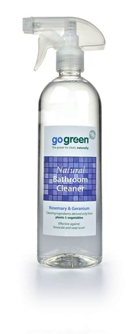 organic bathroom cleaner mpm consumer products go green gt go green