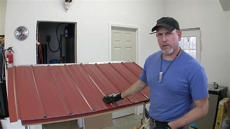 build  pole barn pt  metal roofing youtube