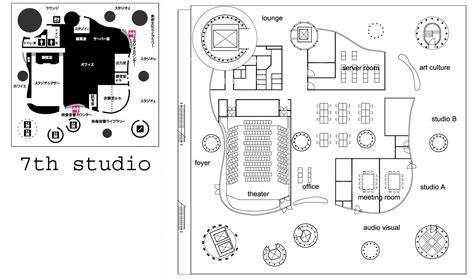 sendai mediatheque floor plans toyo ito sendai mediatheque