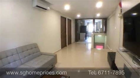 Singapore Home Interior Design by 3 Room Hdb Flat At Yishun Newly Renovated Youtube