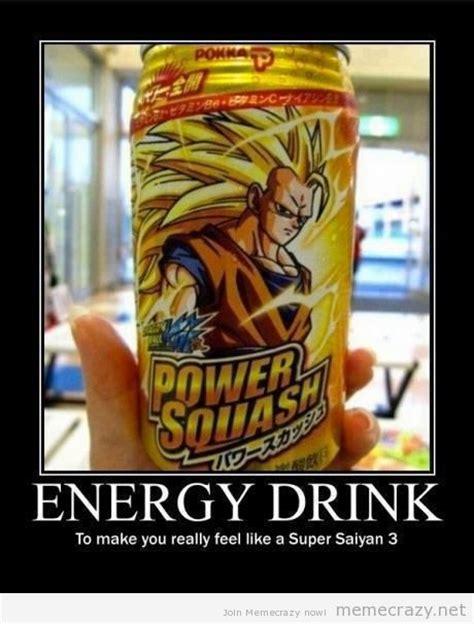 Energy Drink Meme - 25 best funny dbz images on pinterest dbz memes