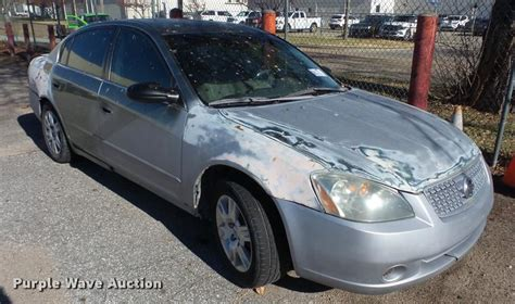purple nissan altima city of wichita towed vehicle auction in wichita by