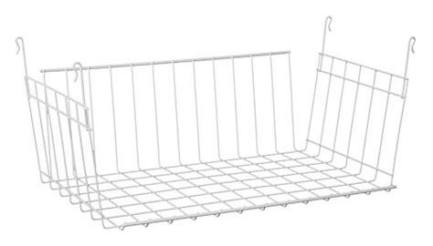 Closetmaid Hanging Wire Shelf Closetmaid 6222 Hanging Basket For Wire Shelving