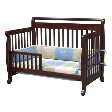 Convertible Changing Table Davinci Emily 4 In 1 Convertible Crib With Changing Table In Cherry M4791c Cribset Pkg