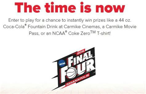 Ncaa Final Four Sweepstakes - coca cola 2015 ncaa final four instant win and sweepstakes thrifty momma ramblings