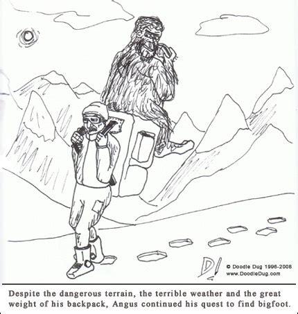 doodle dug doodle dug for bigfoot doodle dug