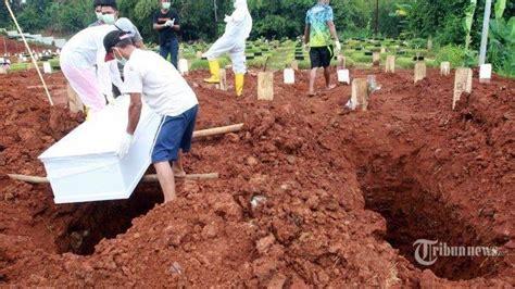 ratusan kuburan dibongkar hasil swab terbukti negatif