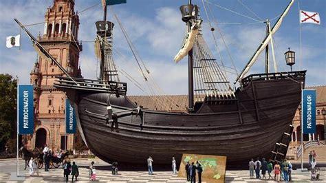 barco de cristobal colon valencia una r 233 plica de la nao victoria se expondr 225 en la plaza de