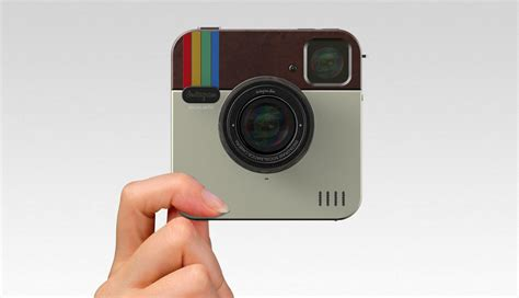 new polaroid new instagram socialmatic instant extravaganzi