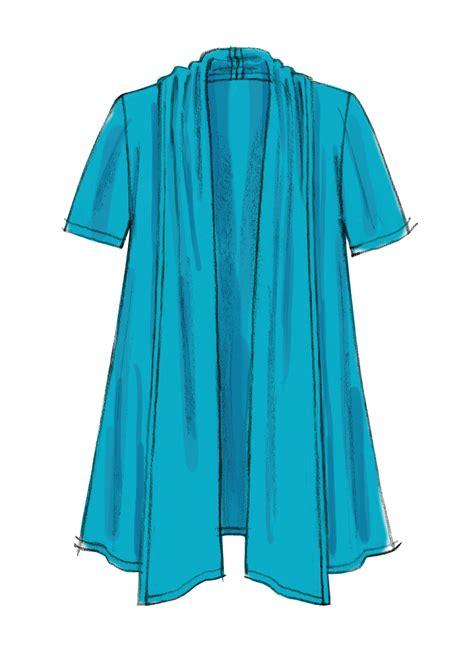 pattern sewing cardigan mccall s misses shawl collar cardigan pattern national