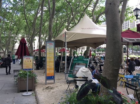bryant park reading room suggested itinerary for a summer s day