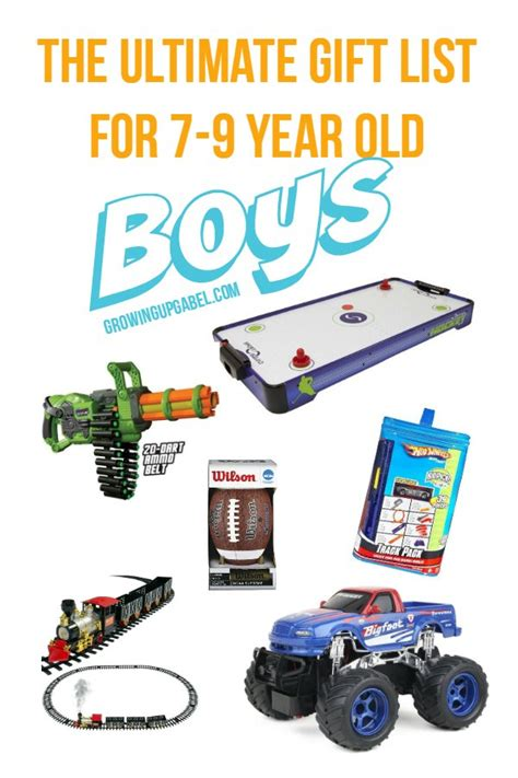 christmas gifts for 7 year old boys the ultimate list of best boy gifts for 7 9 year boys