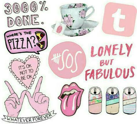 Wallpaper Sticker Girly stickers image 2341366 by ksenia l on favim