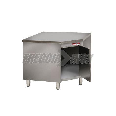 tavolo angolare tavolo armadiato angolare in acciaio inox 1000x1000