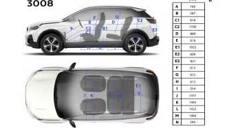 Peugeot 3008 Dimensions Peugeot 3008 Suv Technische Gegevens Info Peugeot