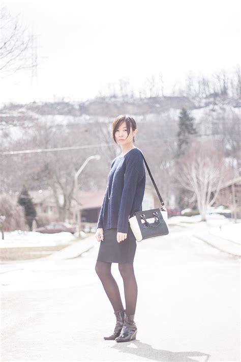 Sabrina Ayumi Black N Navy Q sincerely sabrina mostly minimalist