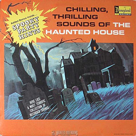 Chilling Thrilling Sounds Of The Haunted House House Albums
