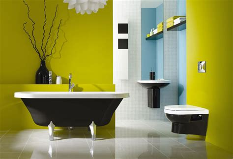 Modern Bathroom Design Colors 25 Cool Yellow Bathroom Design Ideas Freshnist
