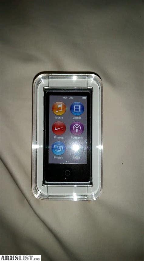 armslist for sale trade ipod nano 16gb 7 - Ipod Nanos For Sale