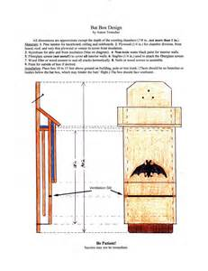 Plans For Bat Houses Build A Bat House Http Www Batconservation Org Bat Houses Build Your Own Bat House This Can