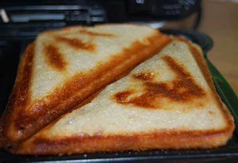 Toast Sandwich Toasted Up A Treat No Drips