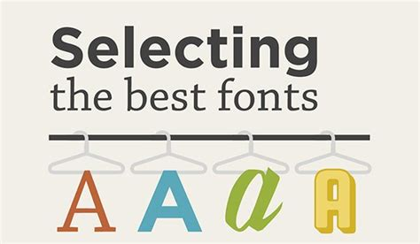 font design basics web design basics how to choose the right font for your