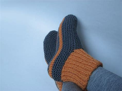 knitted bed socks pattern easy knitted slippers http lomets com
