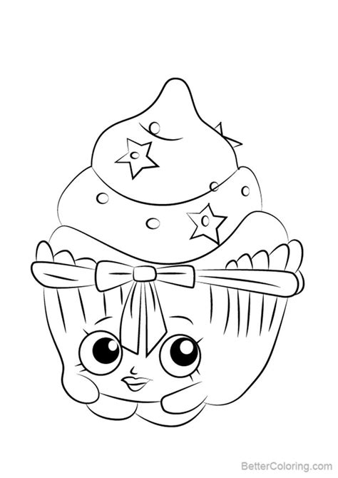patty cake  shopkins coloring pages  printable