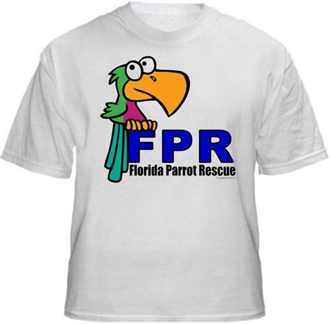 rescue shirts buy an fpr t shirt florida parrot rescue