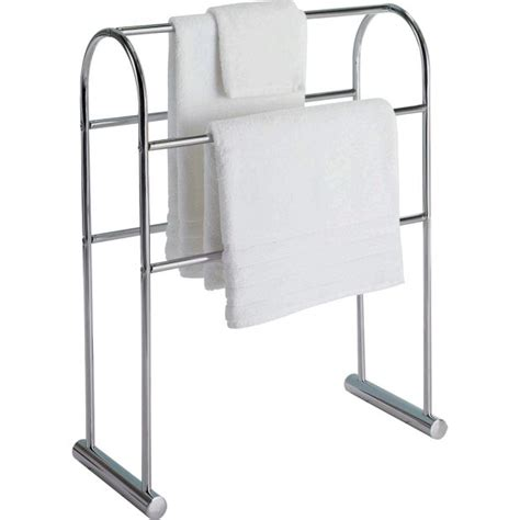 buy home traditional curved towel rail chrome at argos