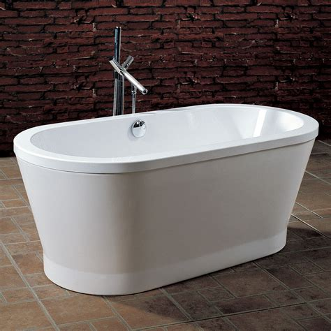 acrylic soaking bathtub aquatica purescape 302 freestanding acrylic soaking
