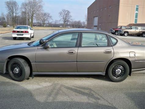 purchase   chevrolet impala police package