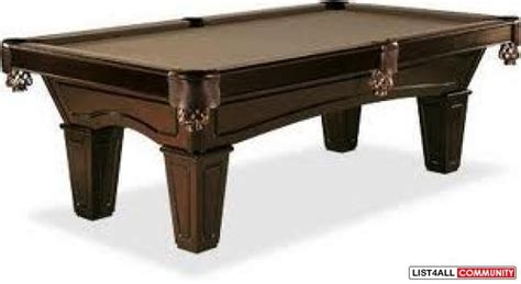 brand new brunswick pool table anna2012 list4all