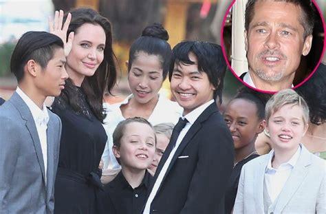 Brad Angelinas Custody Battle by Brad Pitt S Speak For Time