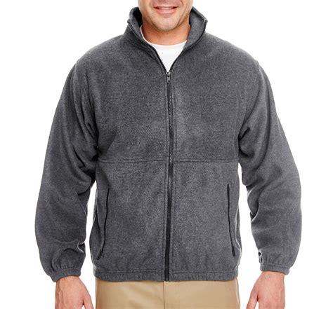 design full zip jacket design ultraclub iceberg fleece full zip jacket mens