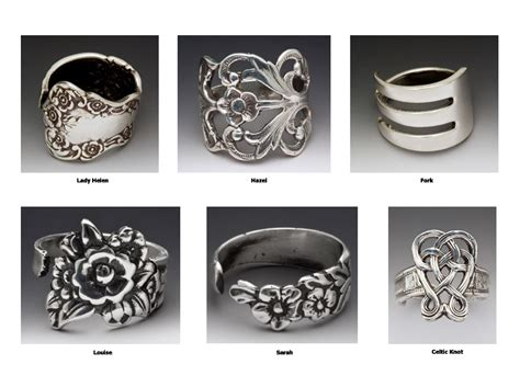 how to make silverware jewelry rings spoon jewelry spoon ring