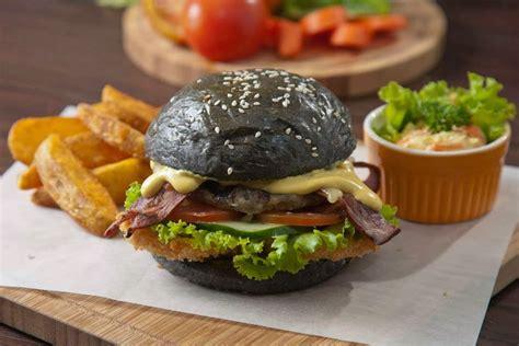 membuat roti untuk burger kreasi dan cara membuat roti burger hitam yang enak toko