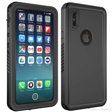 best quality waterproof protective cases for iphone x waterproof underwater sealed