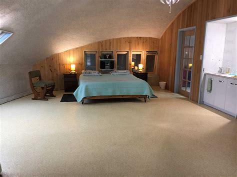 interior completed  australia dome home monolithic