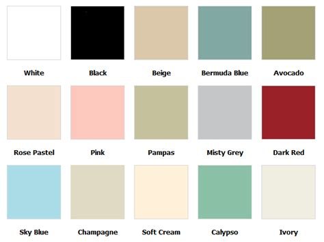 Bathroom Colors 2016 coloured toilet seat colour chart and information