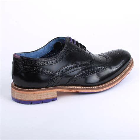ted baker rissh 9 12803 mens laced leather oxford brogue