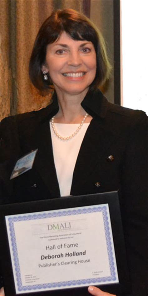 Deborah Holland Pch - deborah holland receives hall of fame award from dma of long island pch blog