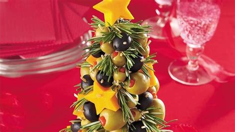 cheese olive appetizer tree recipe from betty crocker